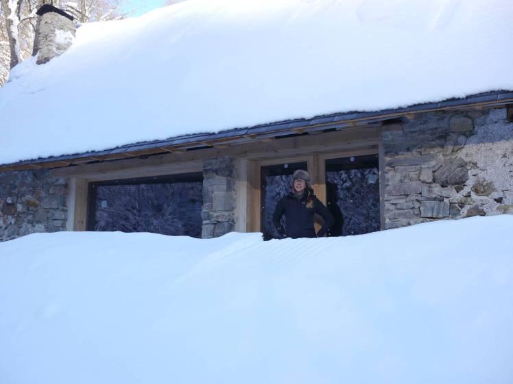 BaieVitréePorte neigeJEN